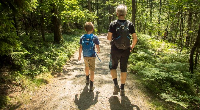 Vättlefjäll – familjeutflykt med Strövarna
