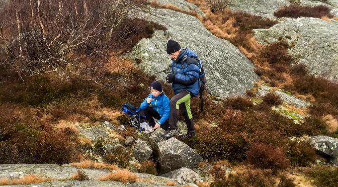 Björkö – nya vandringsstigar, go'fika och några geocacher