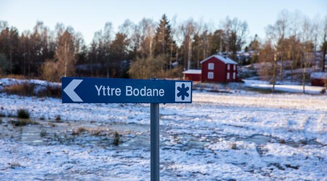 Januarivandring i Yttre Bodane naturreservat